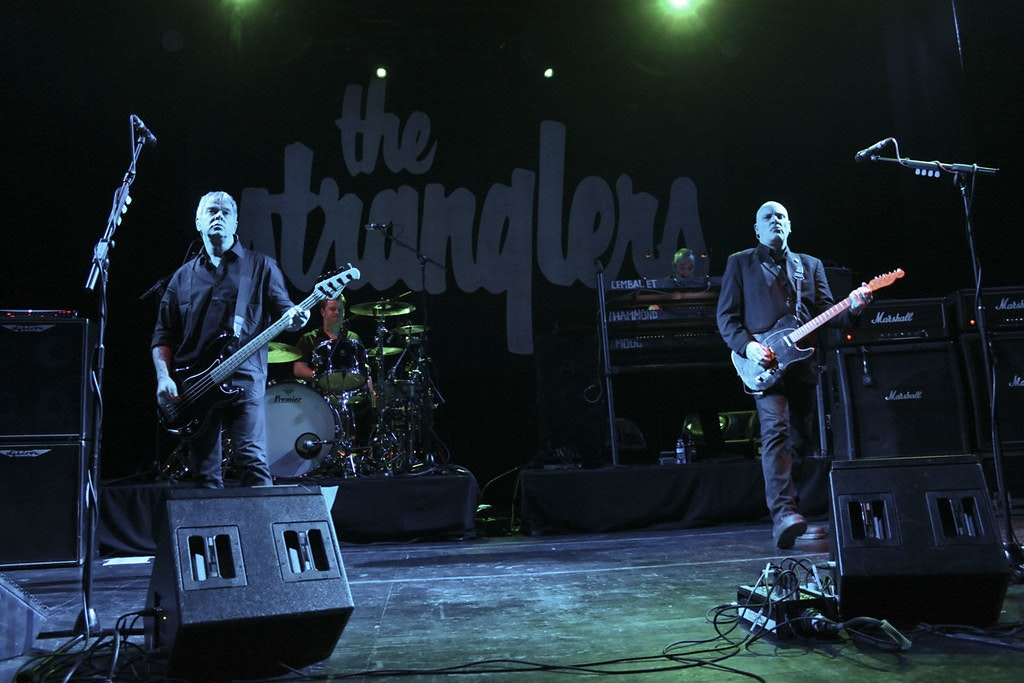 The Strabglers performing in the Guitar BCN in Barcelona