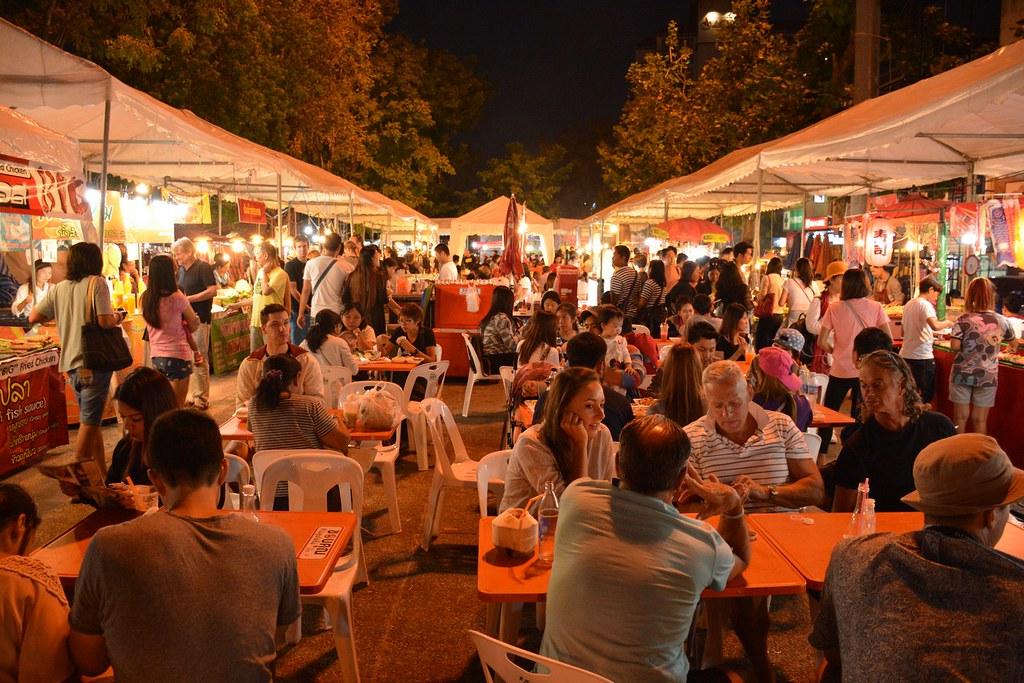 Food at Chiang Mai night market