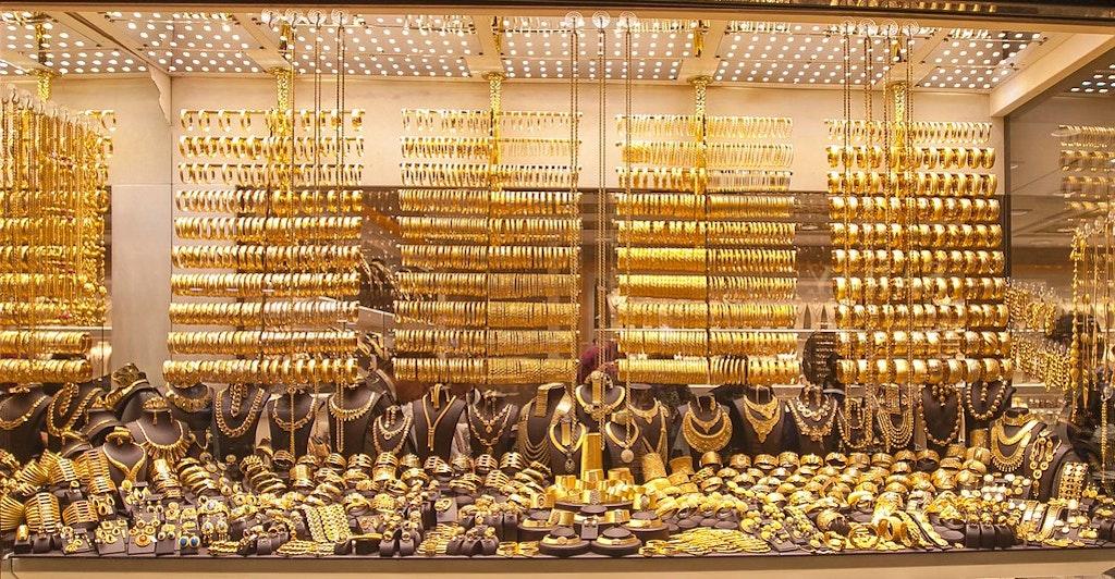 Jewellery at Topkapi Ozvar, Istanbul