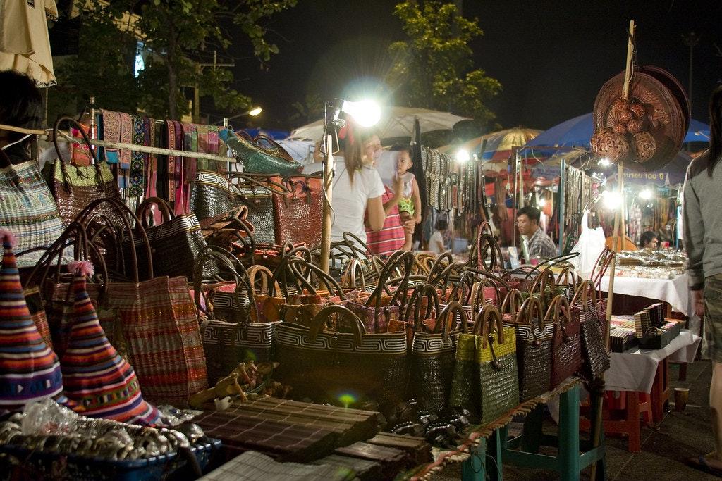 Night market, Chiang Mai