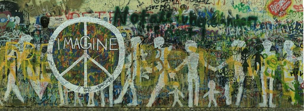 John Lennon Memorial Wall