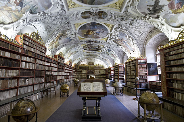 Strahov Library Theological hall, Prague