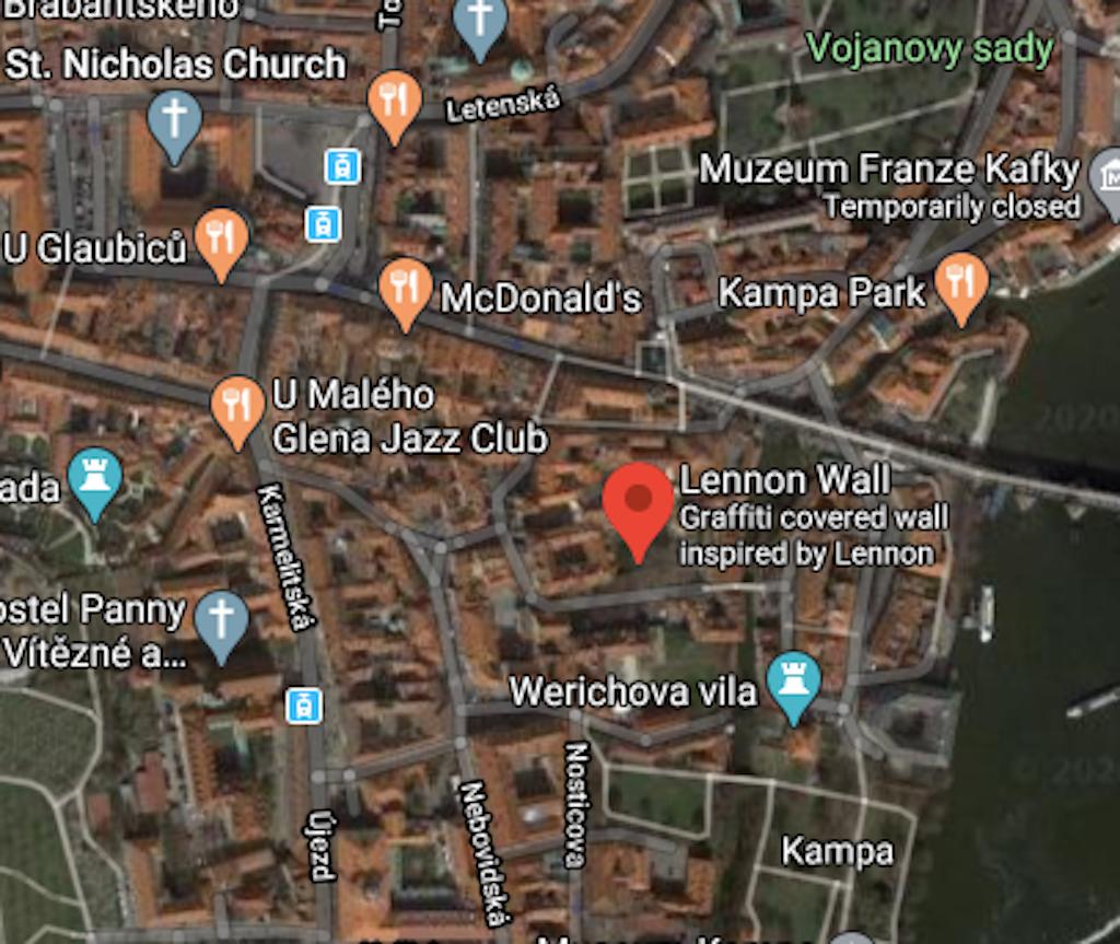 Satellite View Google Maps