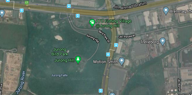 Location of Jurong Bird Park