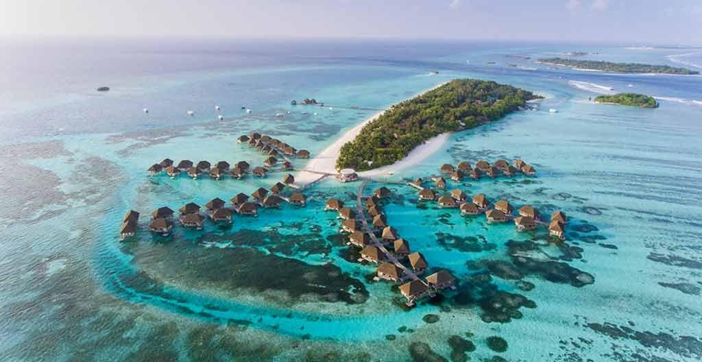 underground restaurant in maldives , conrad maldives, rangali island, maldives resort
