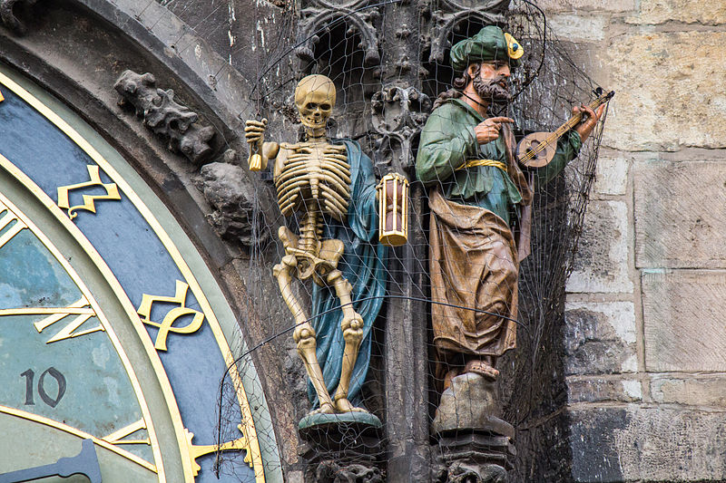 The vain main, figurines in Astronomical Clock
