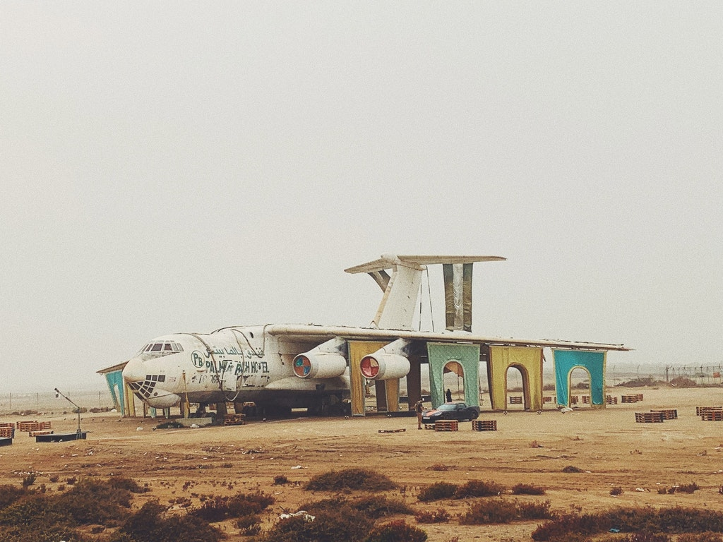 Desert camp site