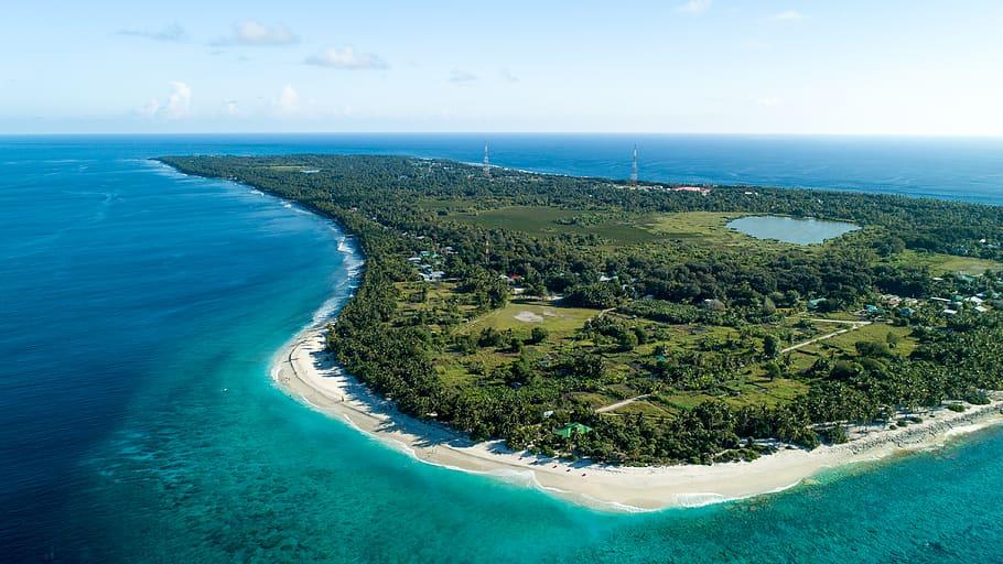 Fua Mulaku- Single island Atoll in the Maldives