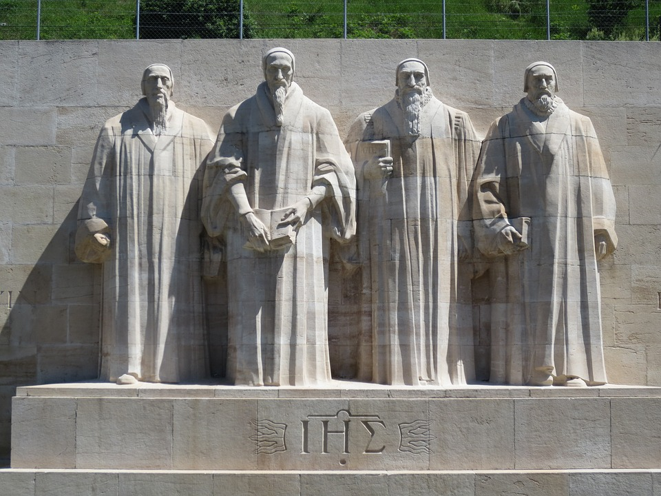 The 4 famous Sculptures of The Reformation Wall