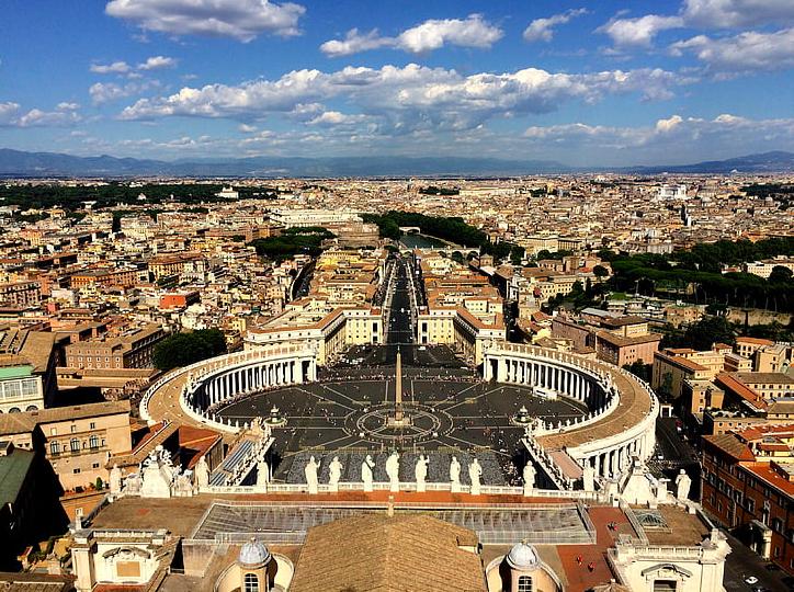 Vatican City - Bird's eye VIew