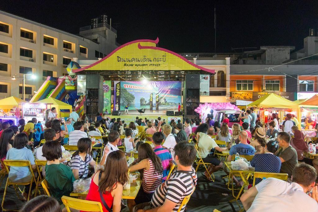 Evening at Krabi town