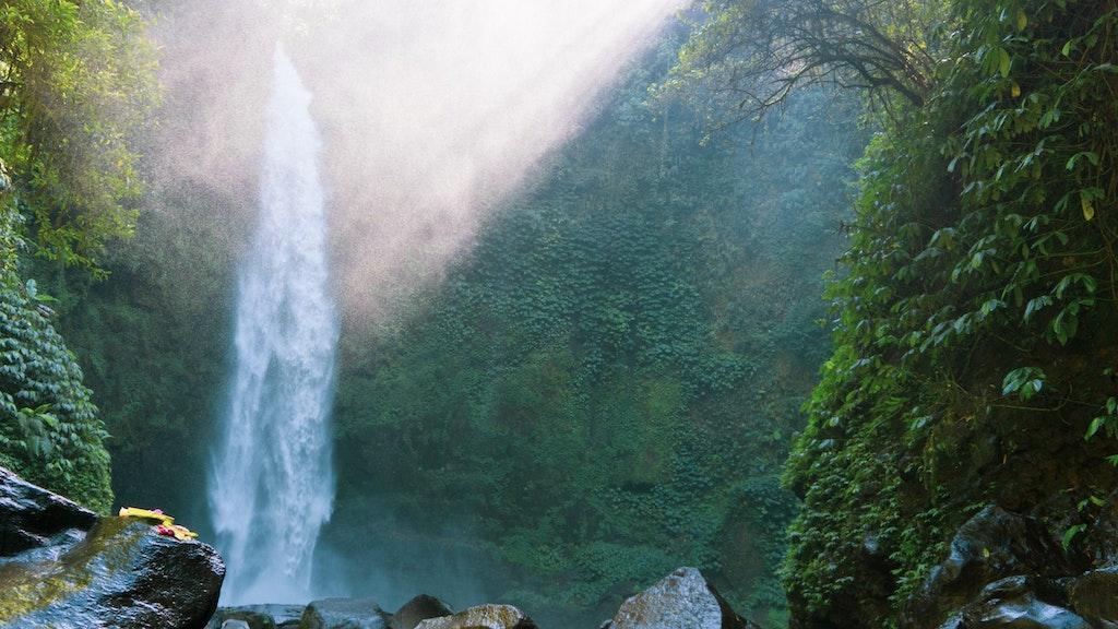 Nung Nung Waterfall, Bali   Image Credit - Unsplash.com