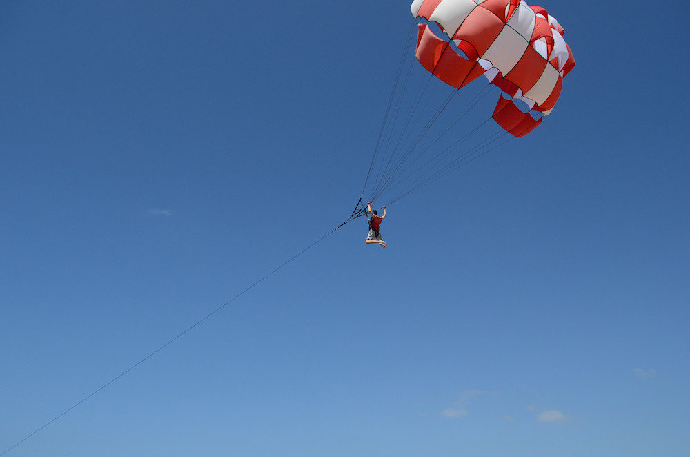 Parasailing, watersports in Bali, Things to Do in Bali in October