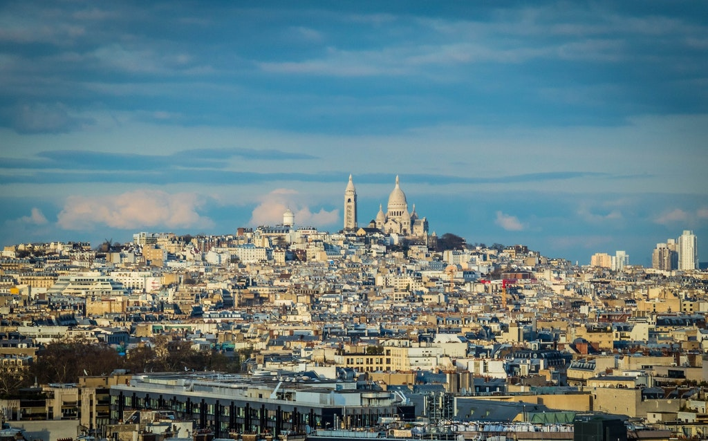 View of Montmartre hill