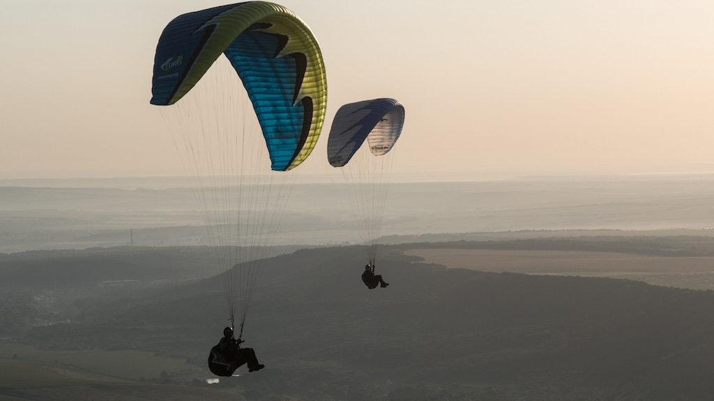 Paragliding in Dubai