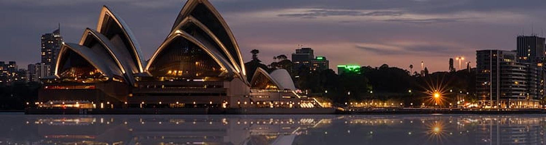 Opera house at Dawn