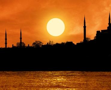 Sunset at Topkapi palace
