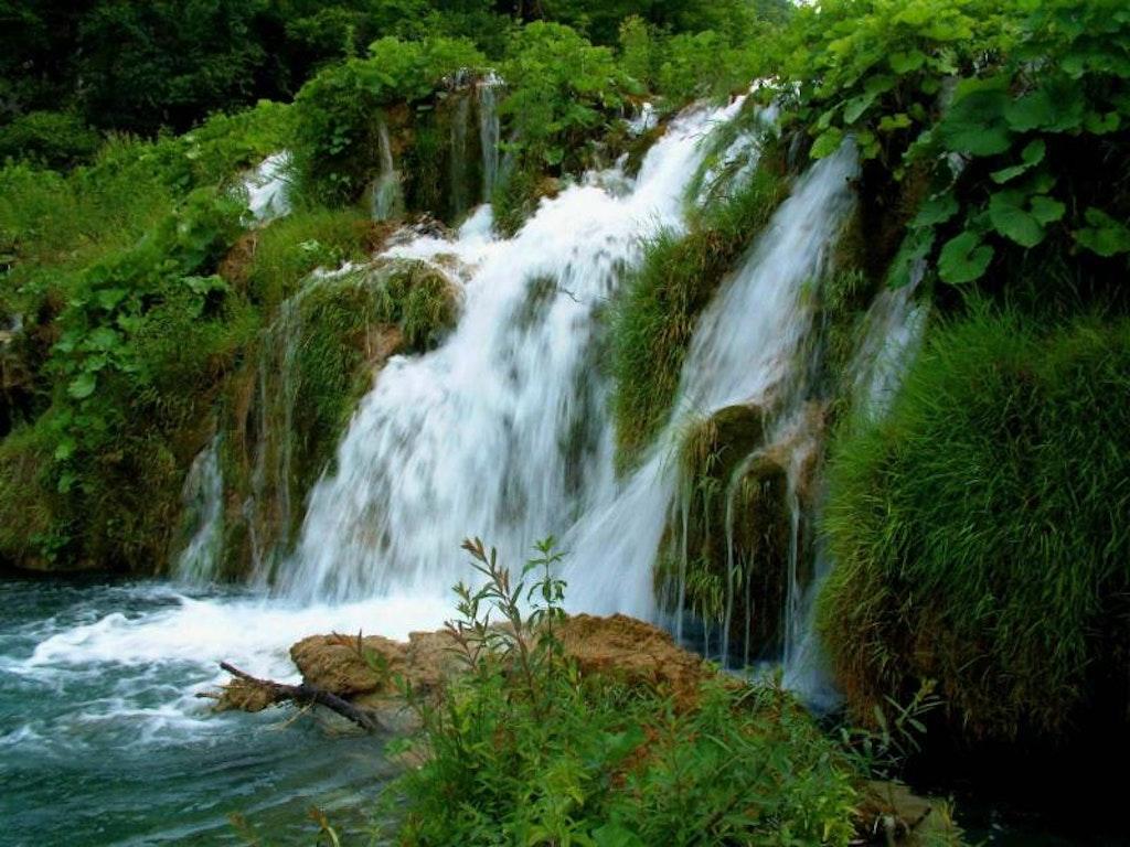 Cherrapunji waterfalls