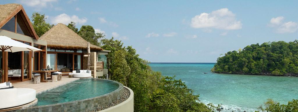 Resort in koh Rong Samloem