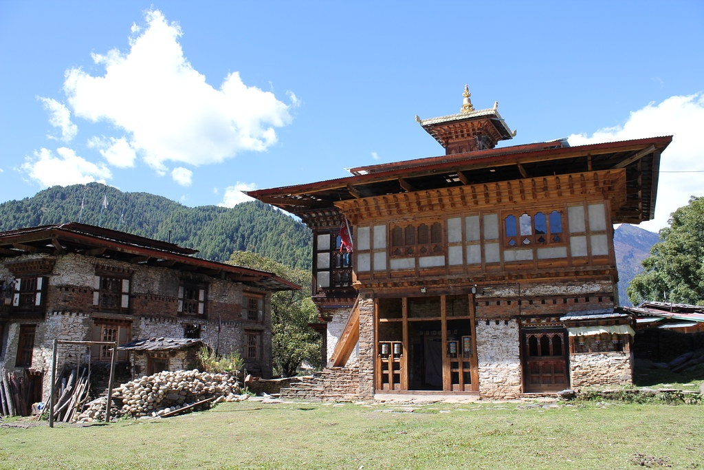 A picture of Ngang Lhakhang in Bhutan