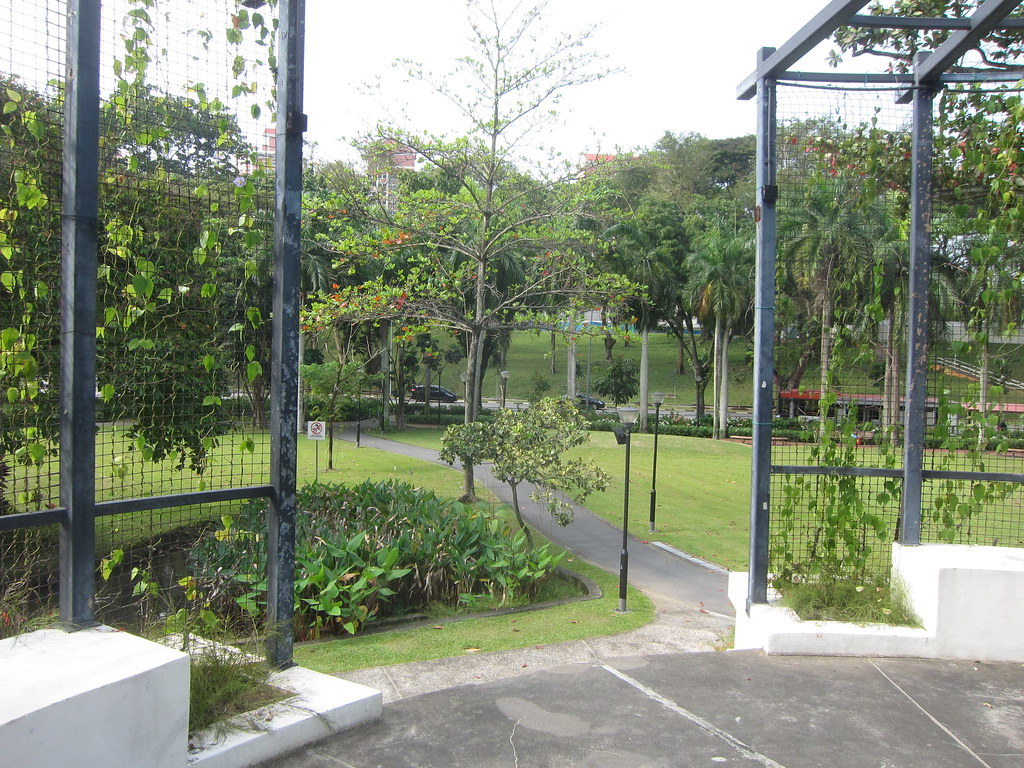Tiong Bahru Park in Singapore