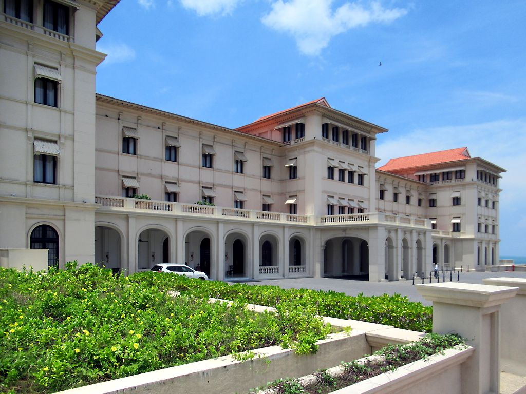 The Galle Face Hotel, Colombo (Srilanka Tour on Budget)