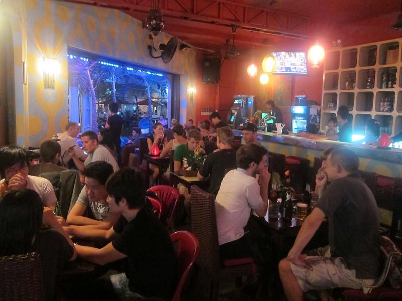 Typically Vietnam bar shot