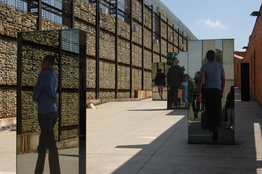 A picture of arts in The Apartheid Museum
