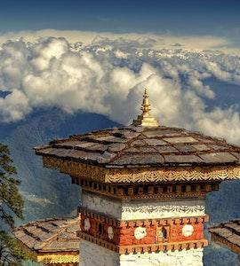 Dochula Pass in Bhutan