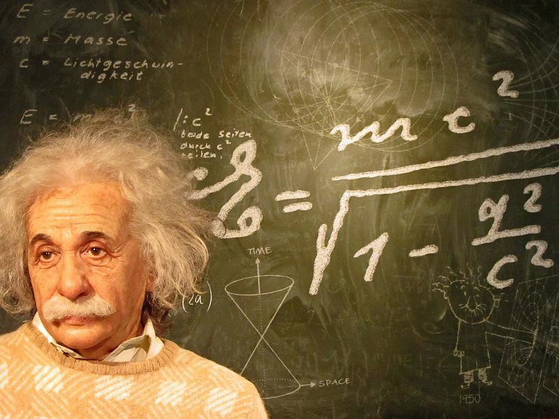 Albert Einstein Madame Tussauds