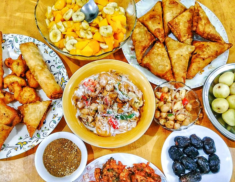Iftar feast