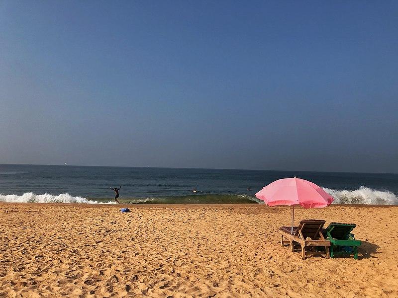 Calangute Beach near Panaji