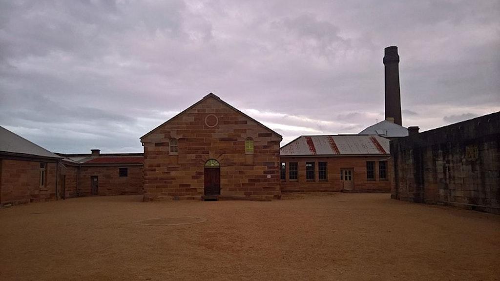 Cockatoo Island Convict Building