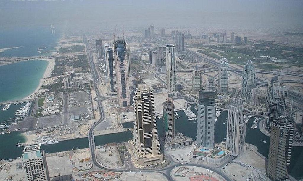 Dubai Marina in 2007