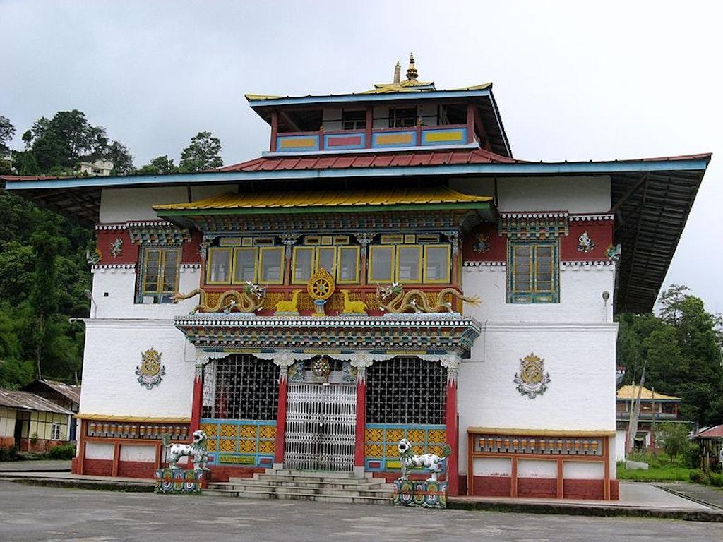 A monastry in Sikkim