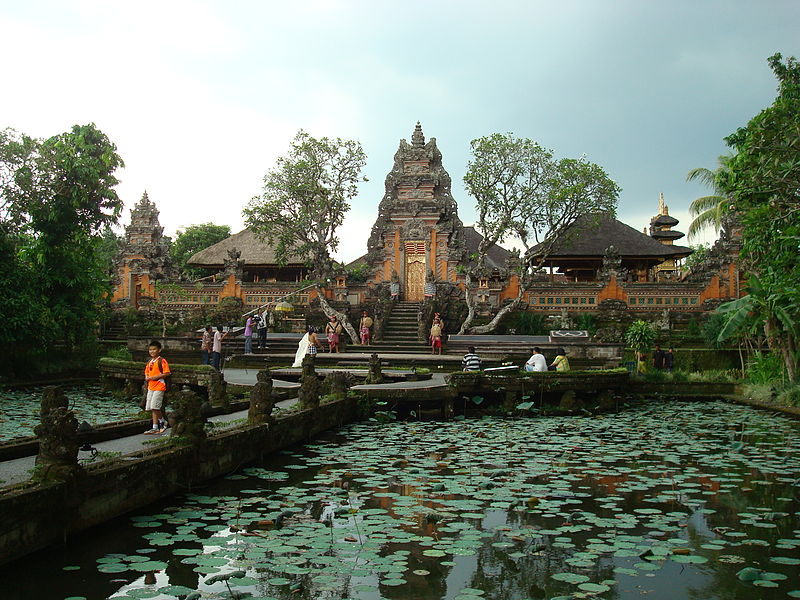 Pura Taman Saraswati  in Ubud, Bali