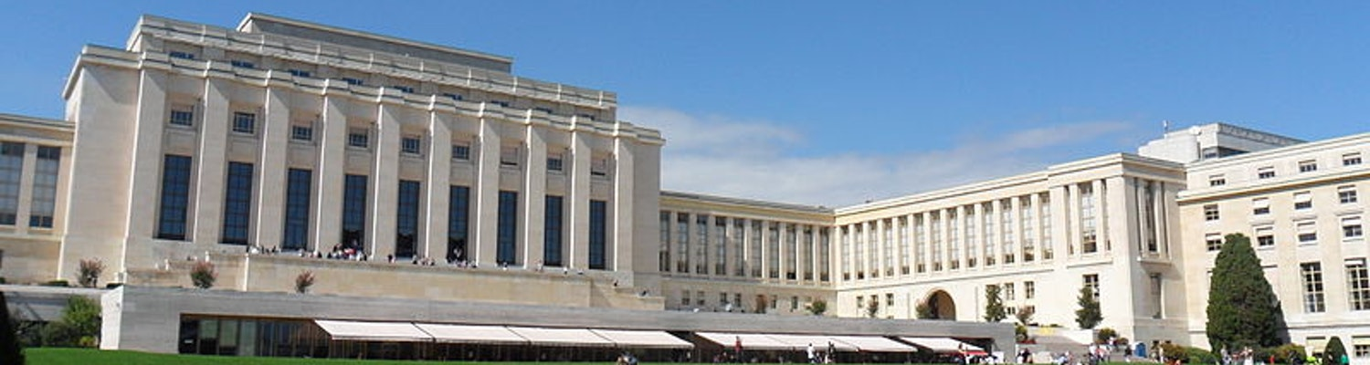 Palace of Nations in geneva