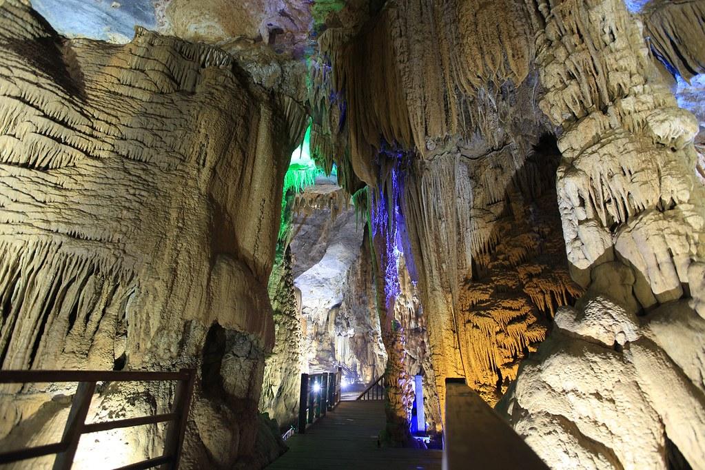 Paradise Cave in Vietnam.