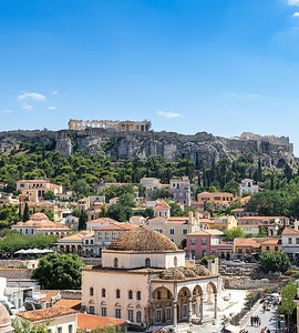 Athens in Greece
