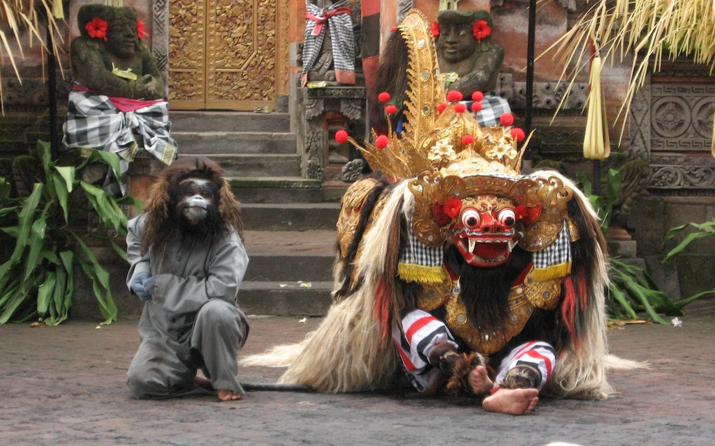 The Barong (Lion) in the Dance