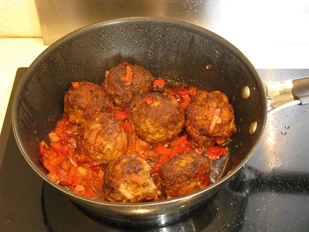 Boulettes, one of the street foods in Mauritius