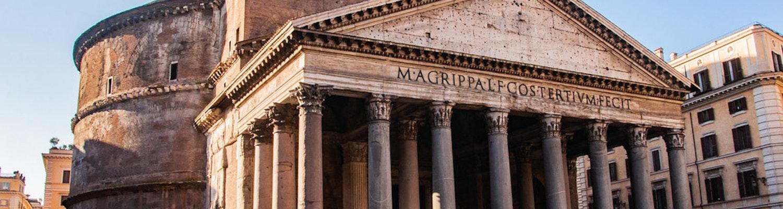 Pantheon Temple Entrance