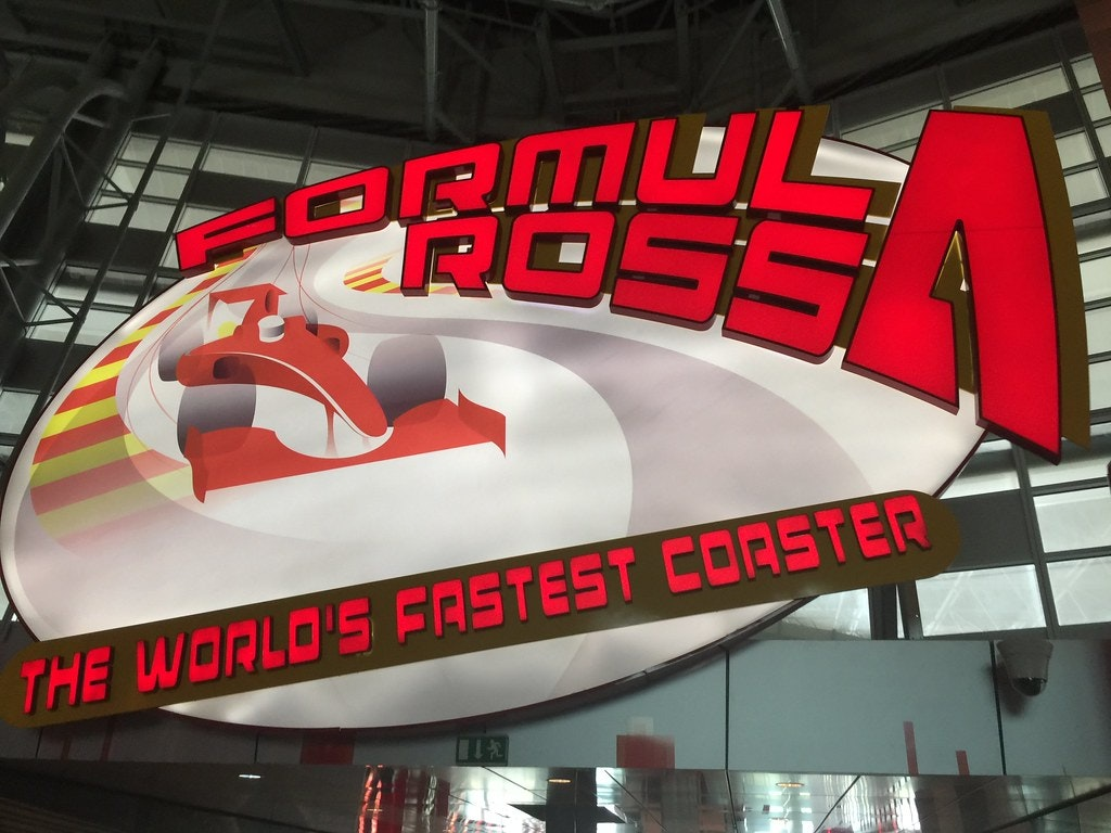world's fastest roller coaster, Formula Rossa