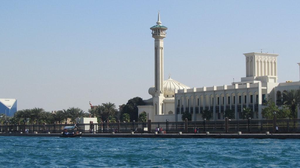 A beautiful view in Dubai