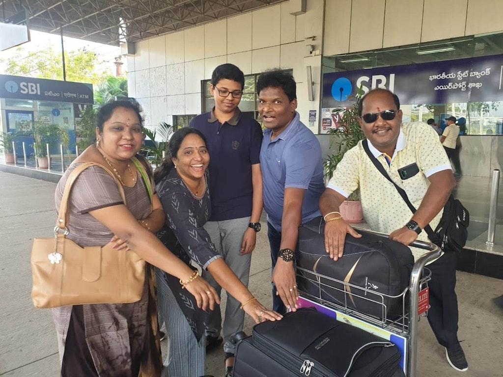 family trip begins