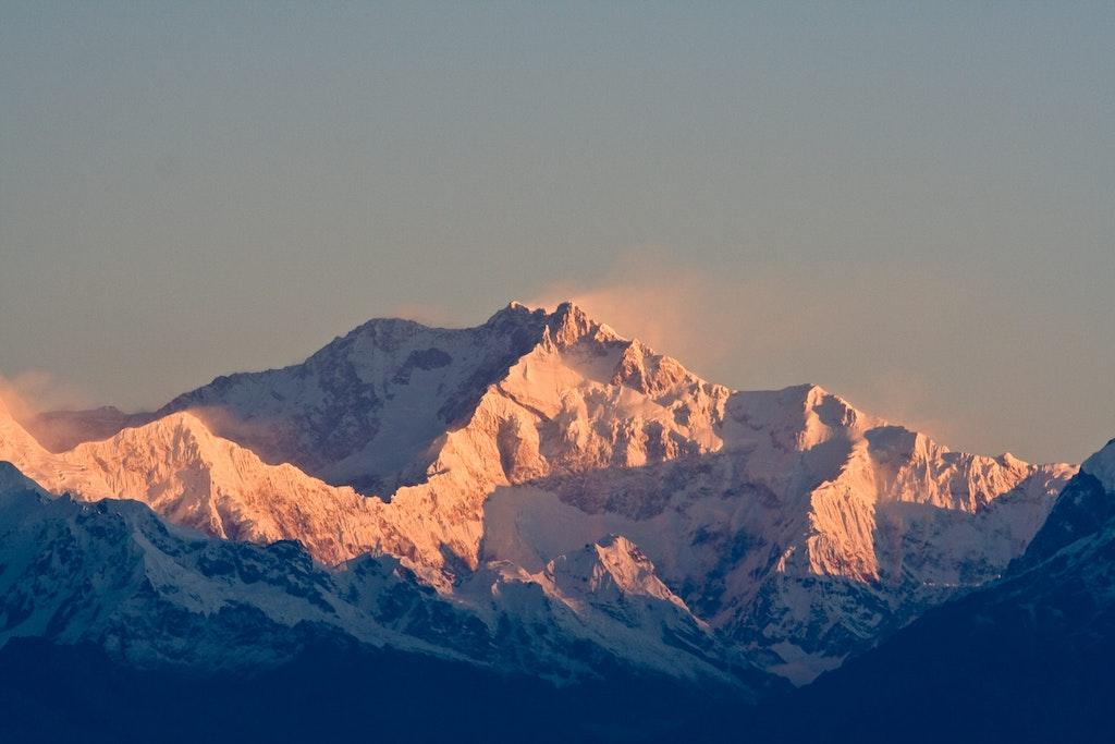 An amazing view of Mt Kanchenjunga, Sikkim