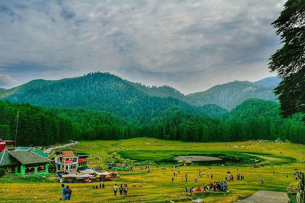 Khajjiar village view