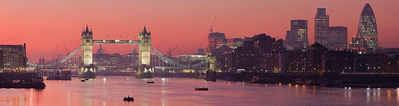 London in March