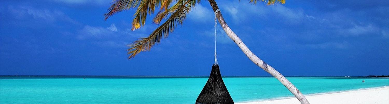 View of Maldives Beach