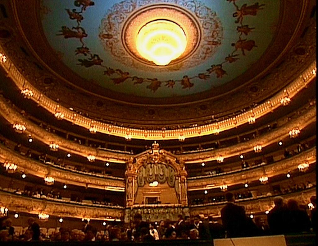 Mariinsky theatre from inside